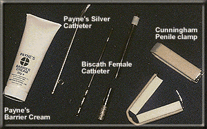Various Ostomy Products