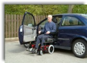Wheelchair to vehicle seat in a few minutes