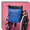 wheelchair bag carry blue/pink